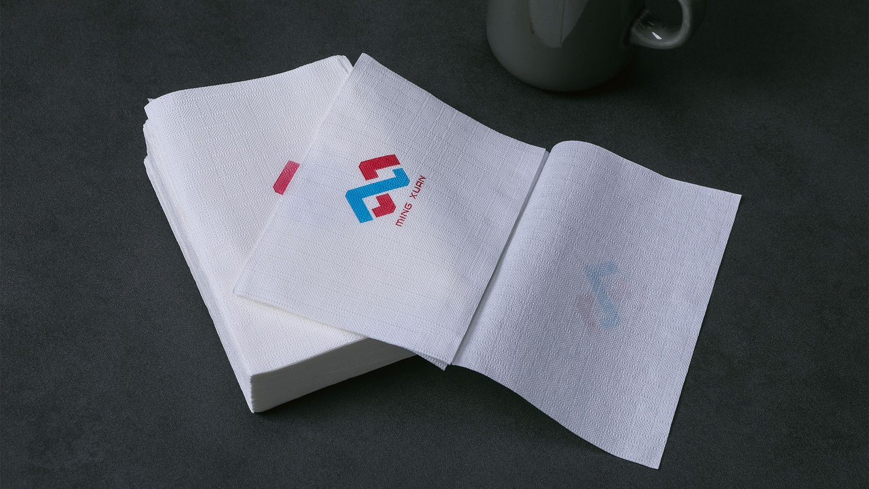 Customised Logo Printing Interfold Napkin