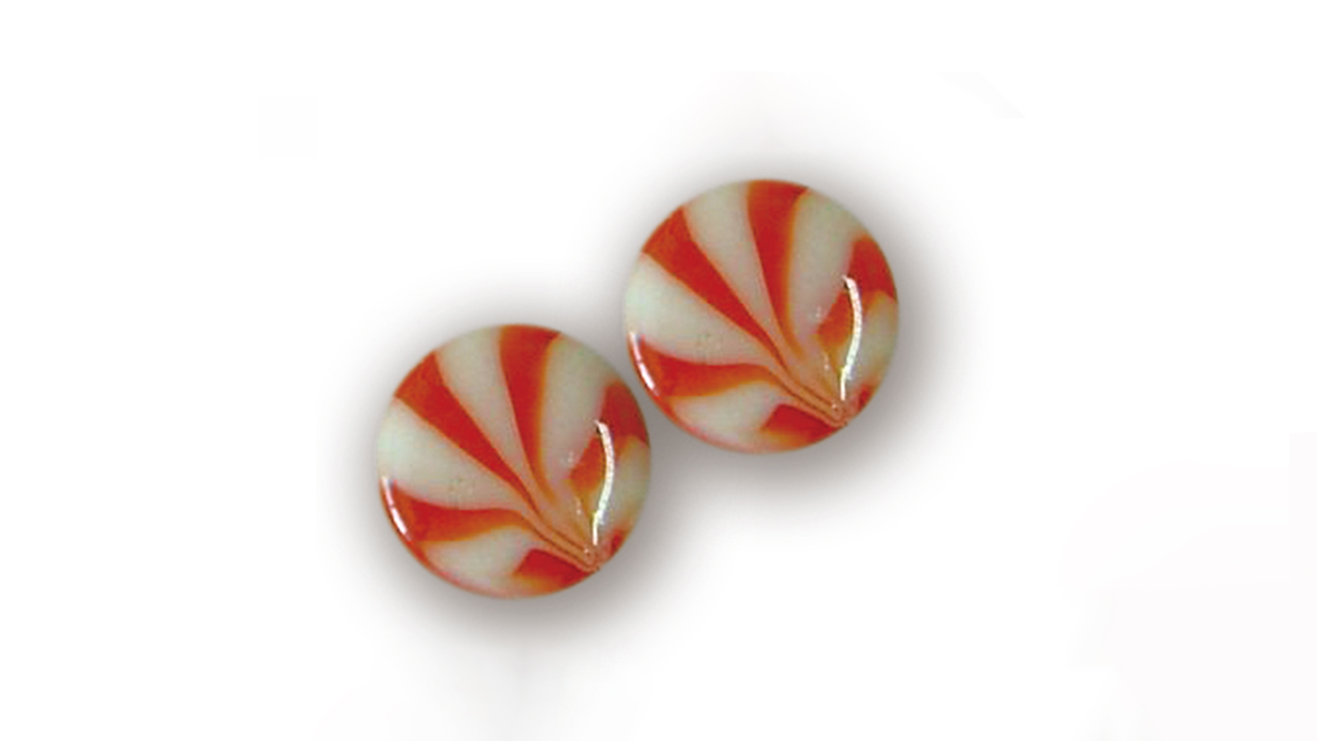Hard candy depositing line for two color striped candy