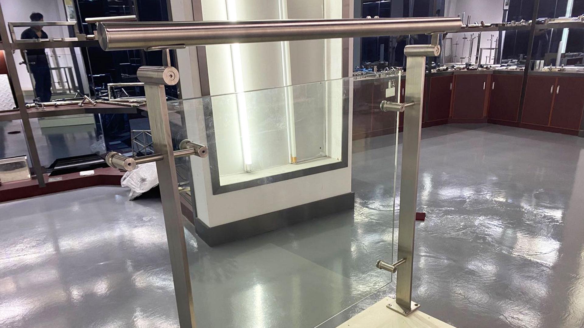 Stainless Steel Glass Bar Railing Handrails Series