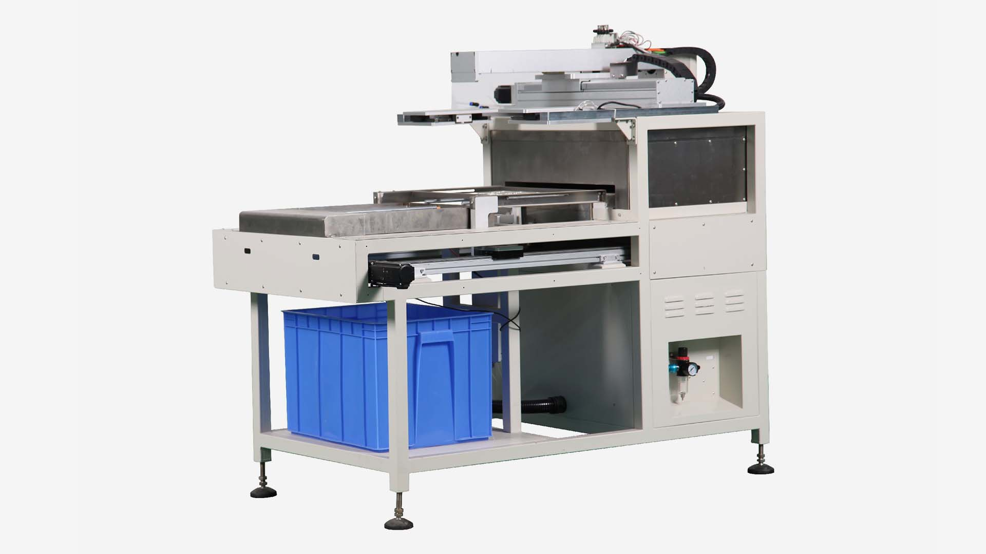 One piece compound machine of dropping plastic oven