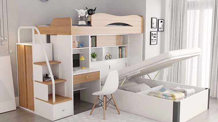 Professional Height bed with guardrail bunk bed child bed combination bed child bed simple bunk bed multifunctional bunk bed manufacturers