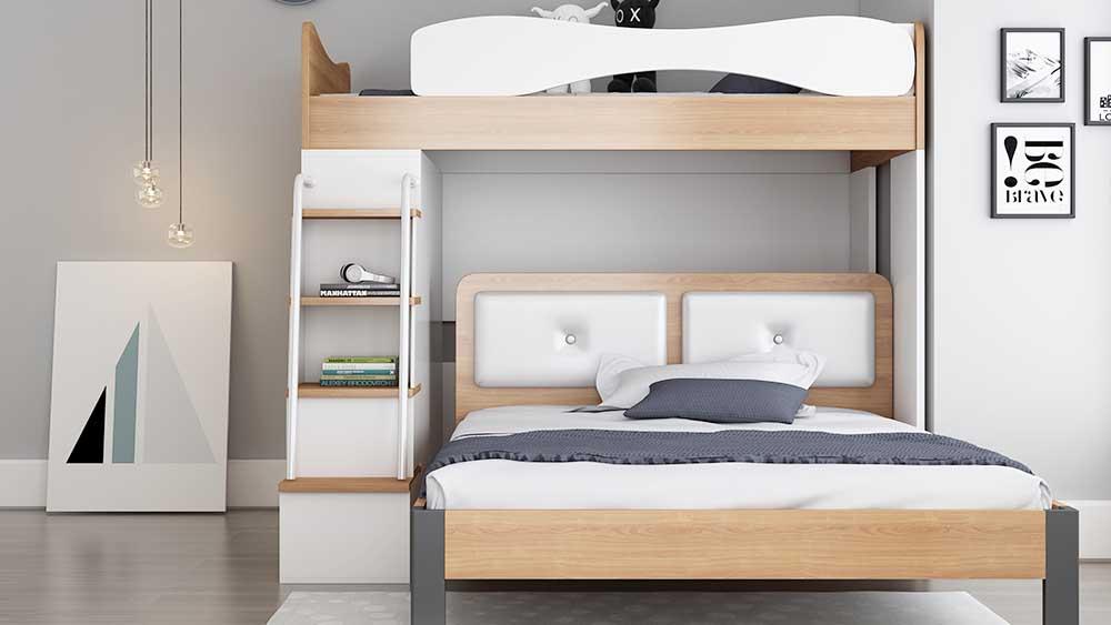 子供用ベッド多機能ダブルベッドD06B#