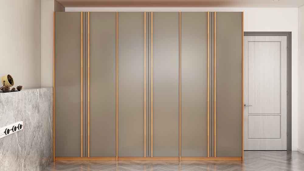 MA01 suite grey wardrobe