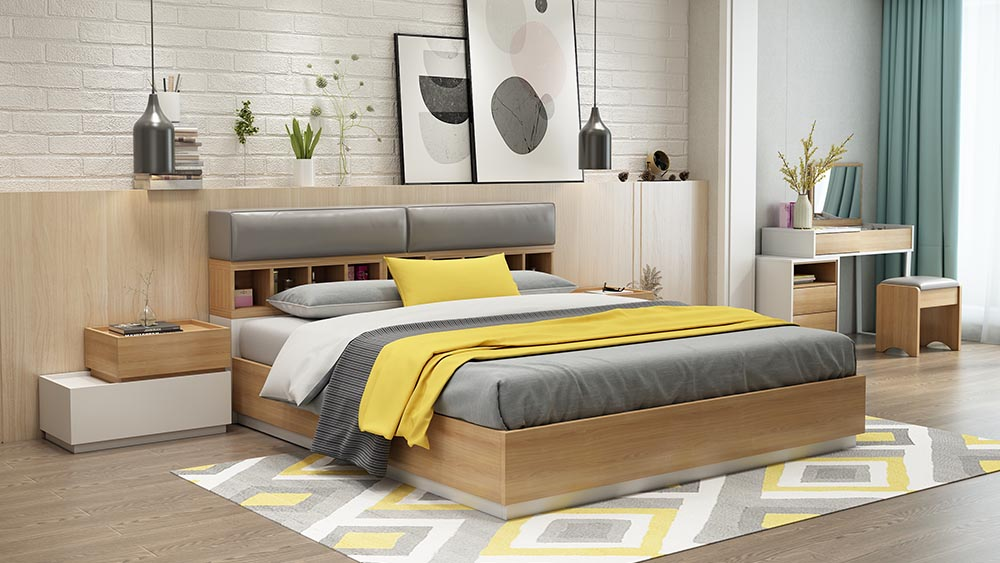 I-MA02 Suite White-Bed