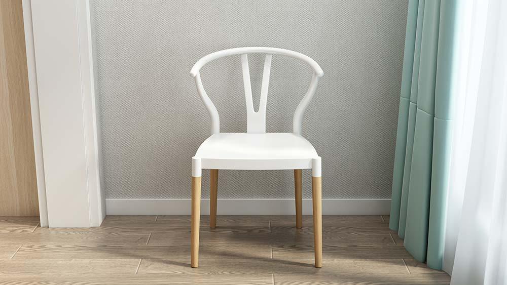 MA02 Suite White-Hans Chair