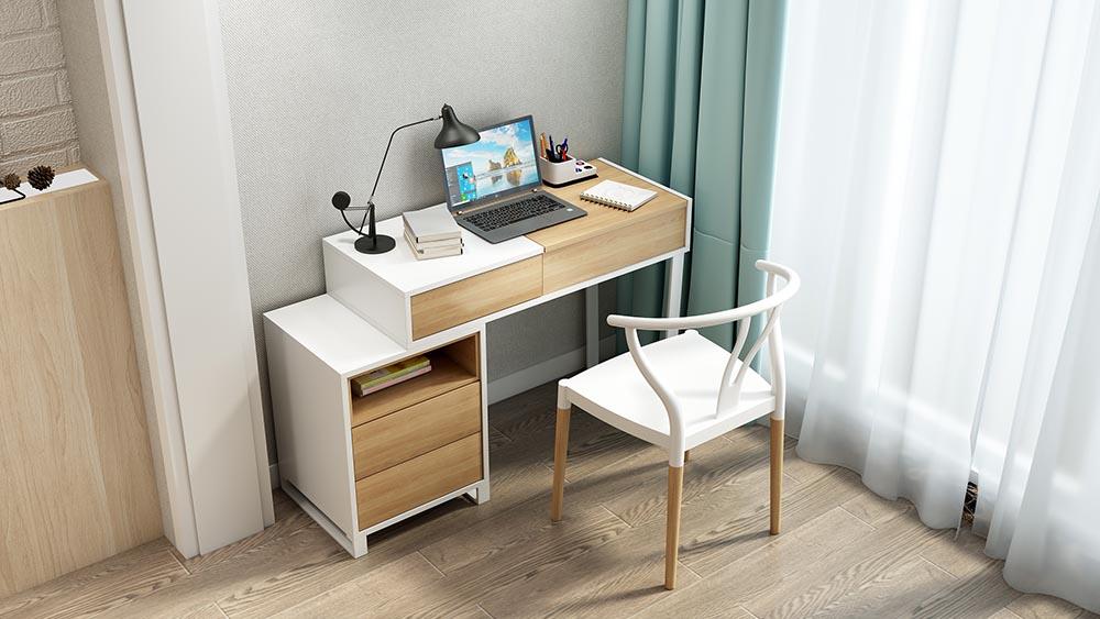 MA02 Suite White - Dresser Hans Chair