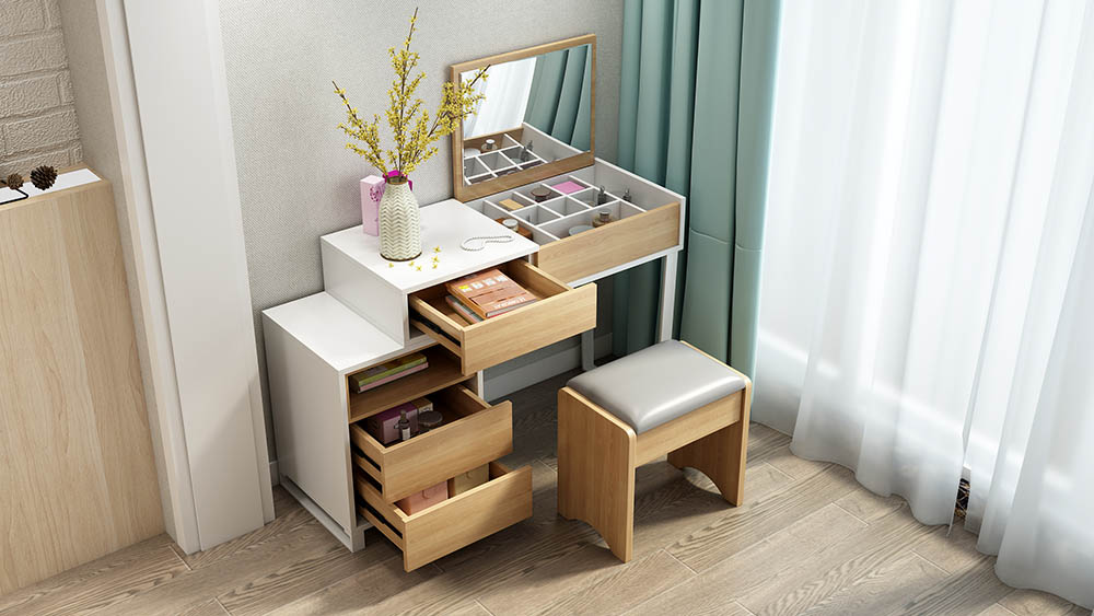 MA02 Suite White-Dressing Table