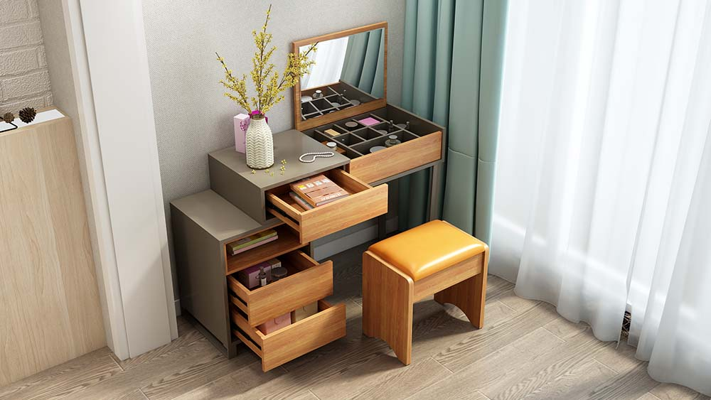 MA02 Suite Gray-Dressing Table