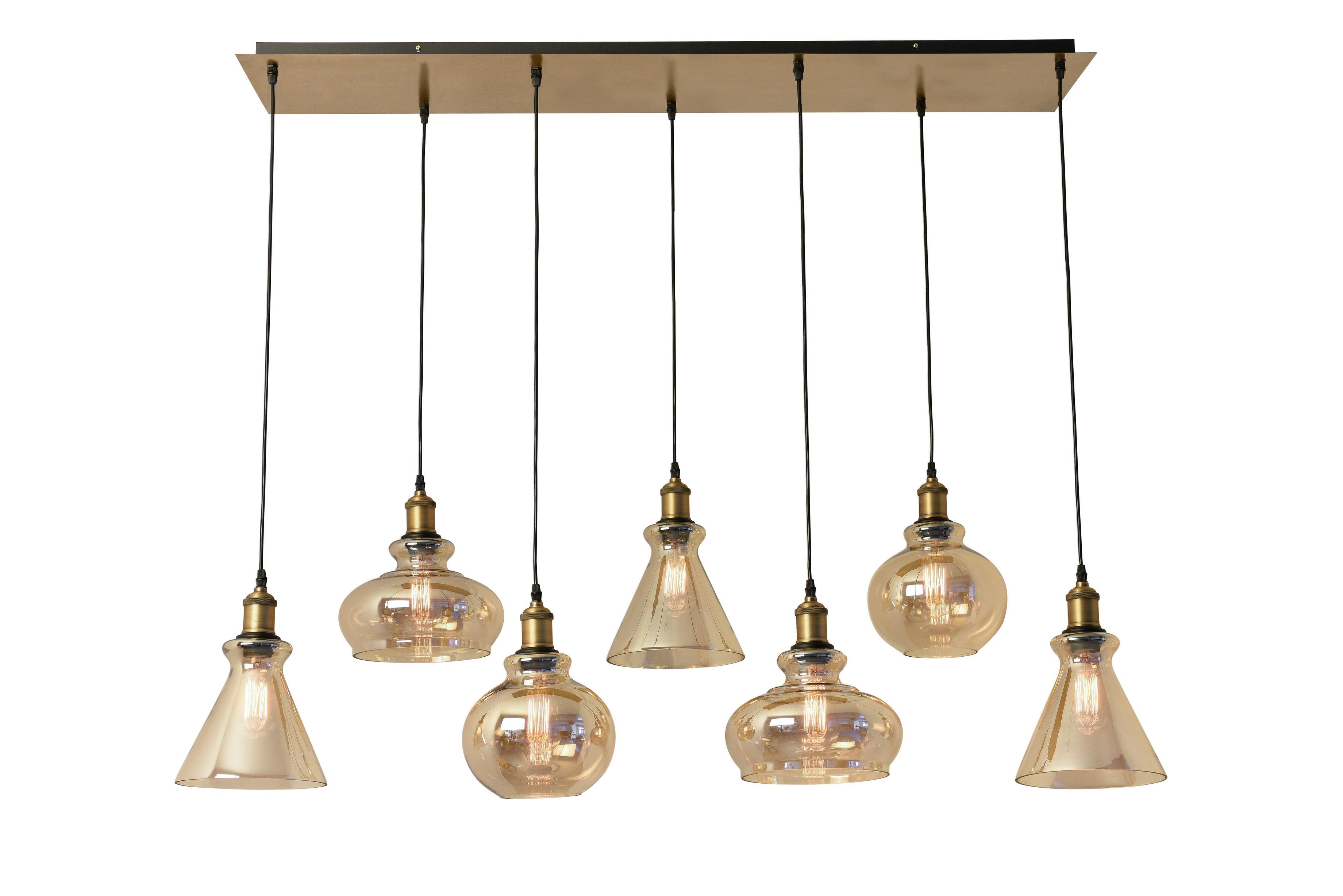 Best glass pendant, vintage lamp-Giga lighting
