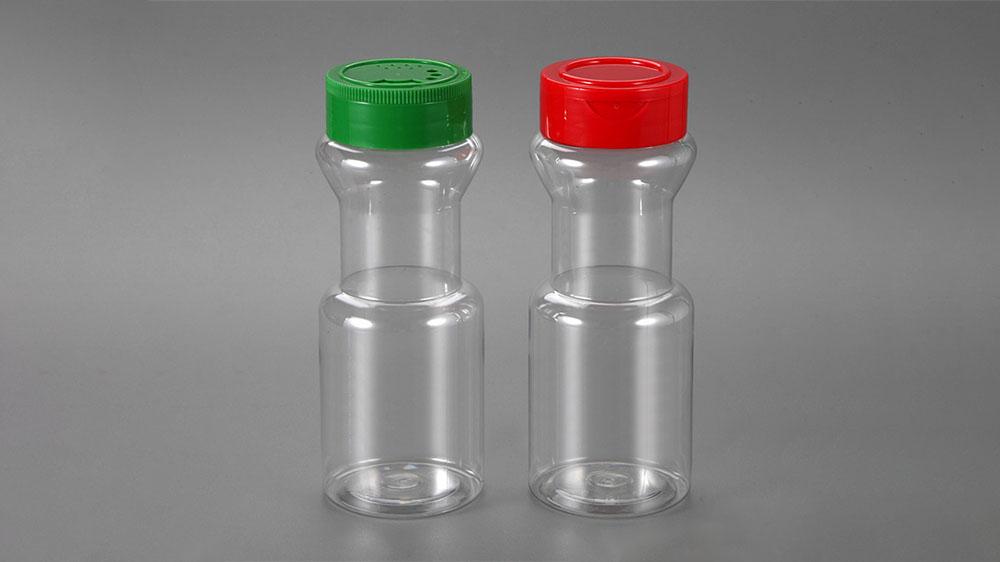 Pots à épices en plastique de cuisine de 225 ml avec couvercle à torsion