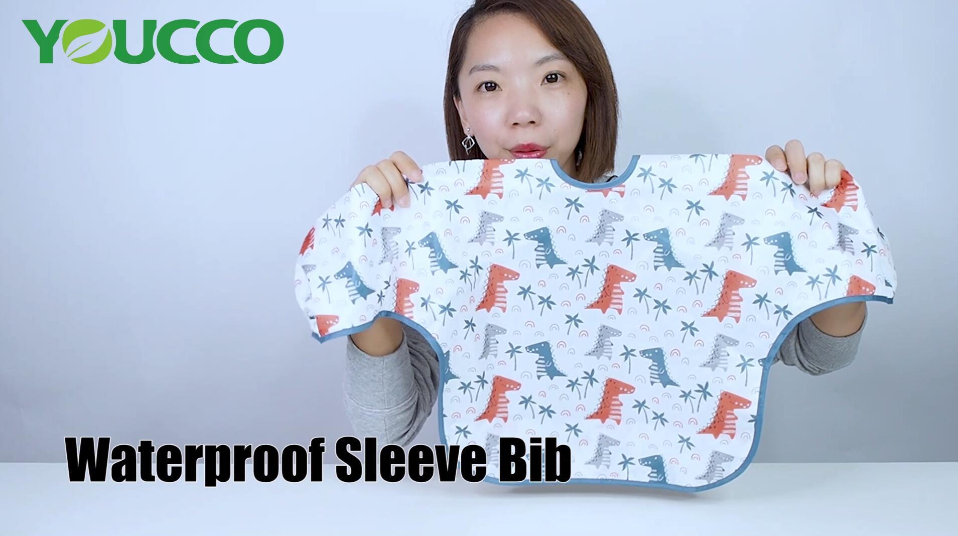 Best Washable Waterproof Baby Long Sleeve Bib Supplier 210312