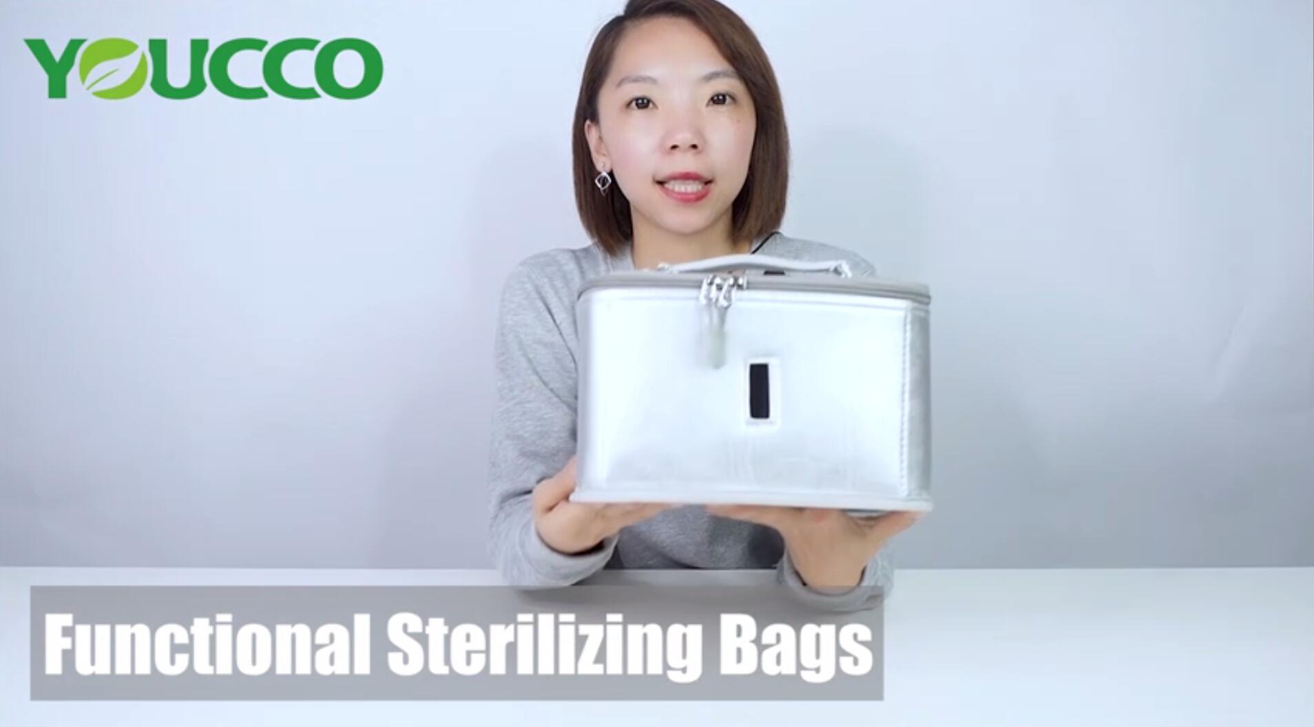 USB UVC LED Portable Disinfection Sterilizer Bag 210302