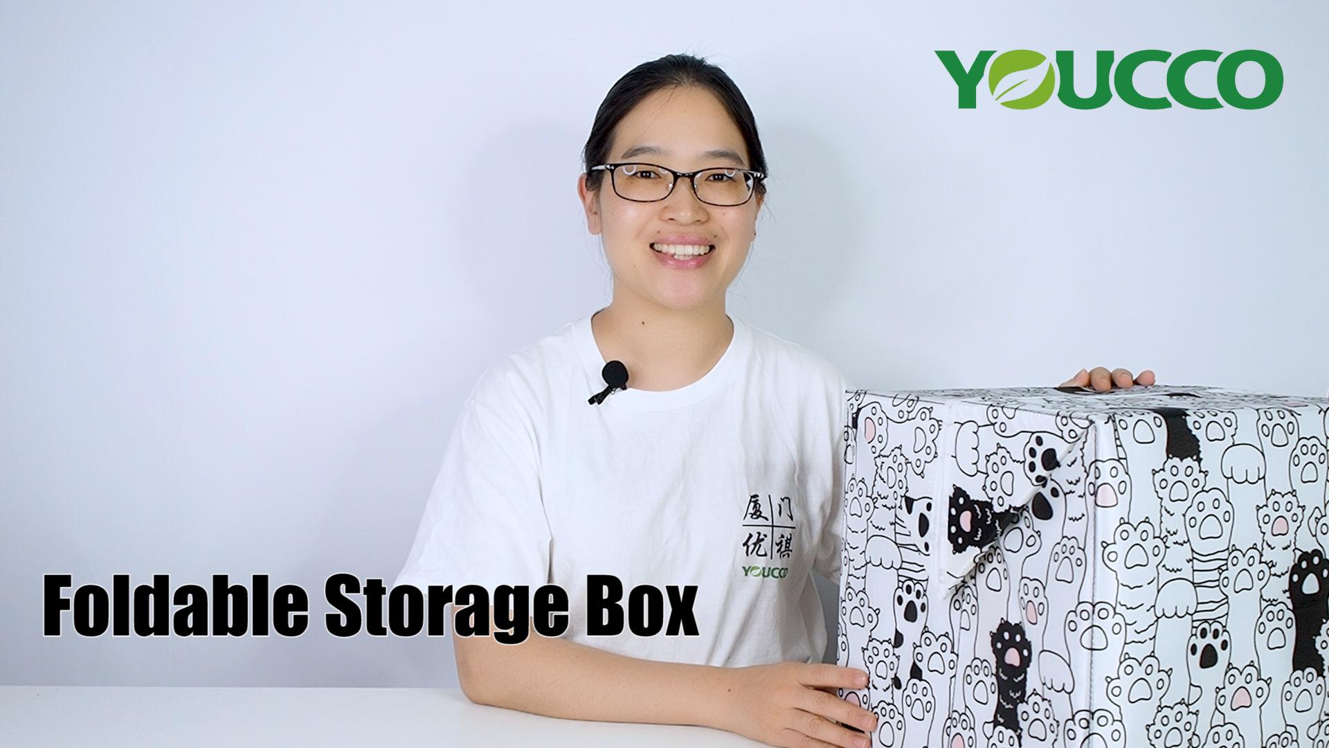 Professional Large Capacity foldable Storage box Organizer manufacturers 210406