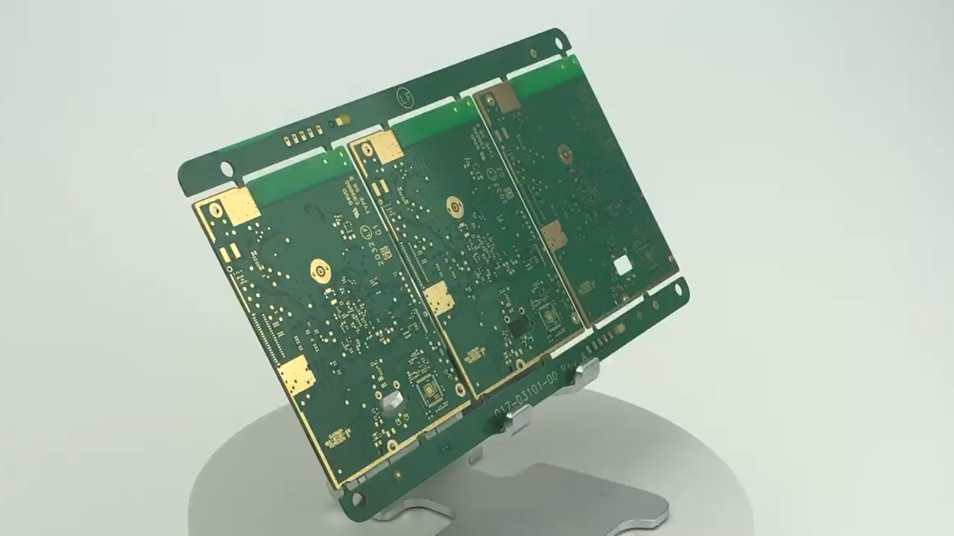 HF Mixed Compression Stepped PCB Board