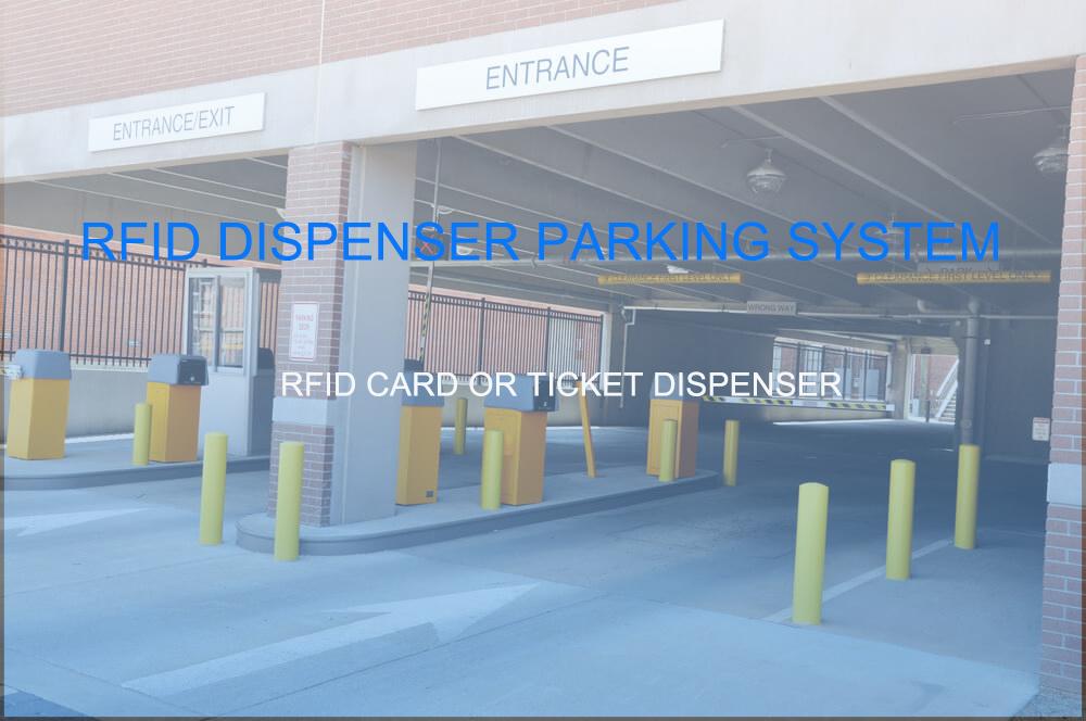 Hot sale RFID Intelligent Parking Ticket Machine System of parking equipment