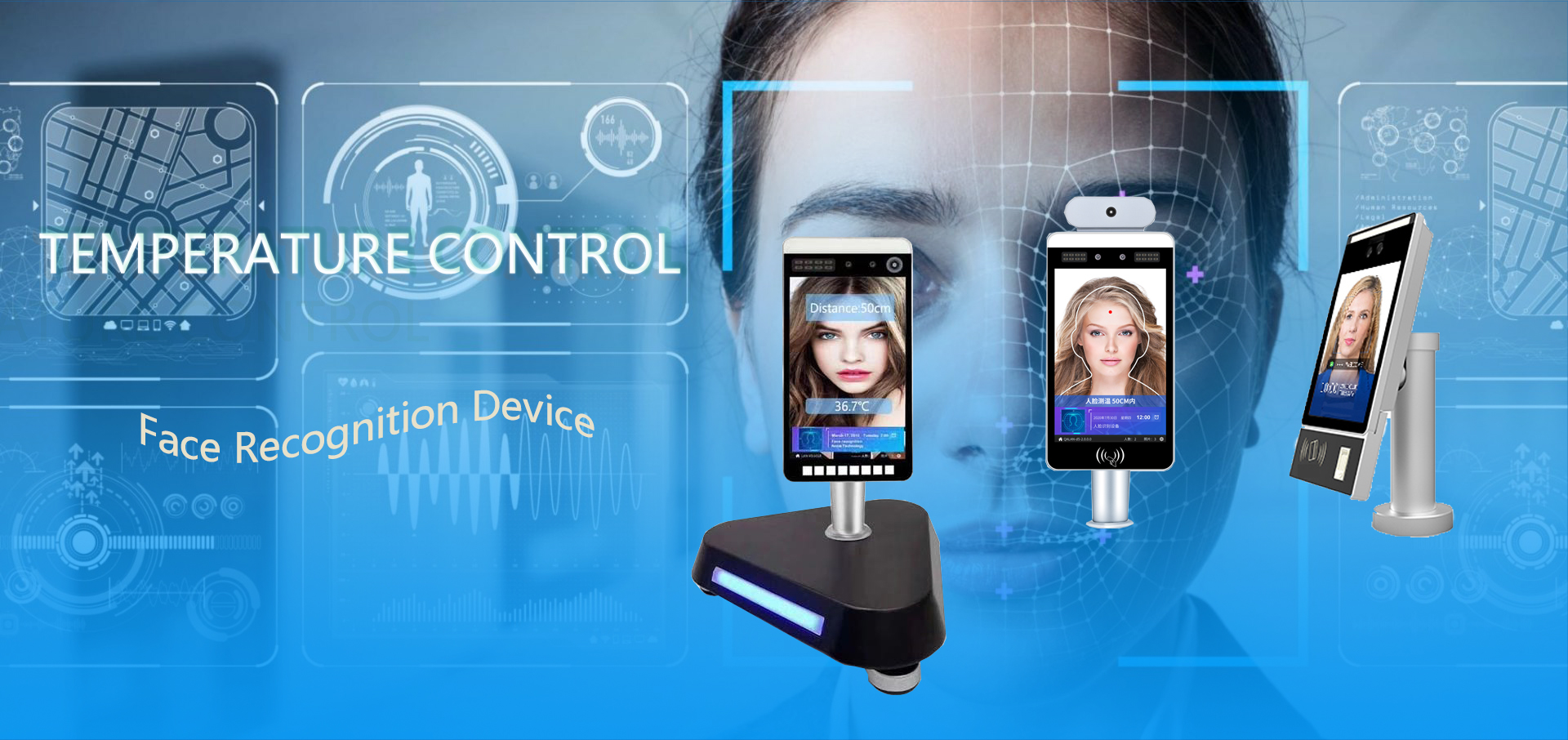 Face Recognition Biometric Machine Android Face Recognition Door Access Control