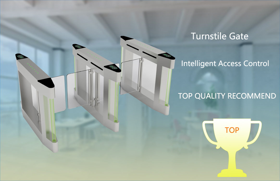 Best Quality Swing Turnstile Barrier Pedestrian Gate for Passage Entrance Control System Factory