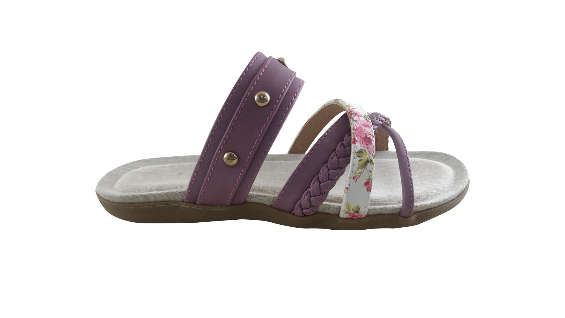 Flower Sandals Women' Leather Flat 2020