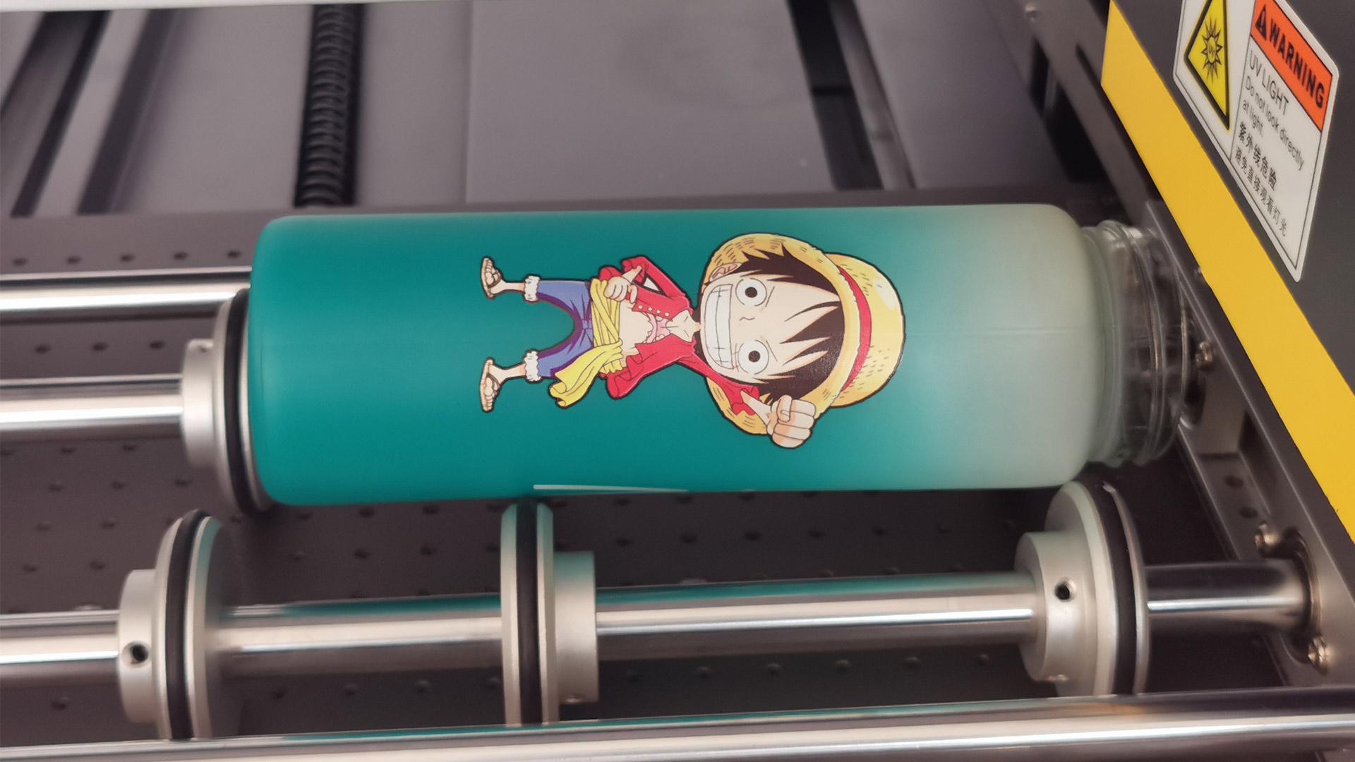 UV Printer Produces Varnish/Glass/Metal/Phone Case Samples