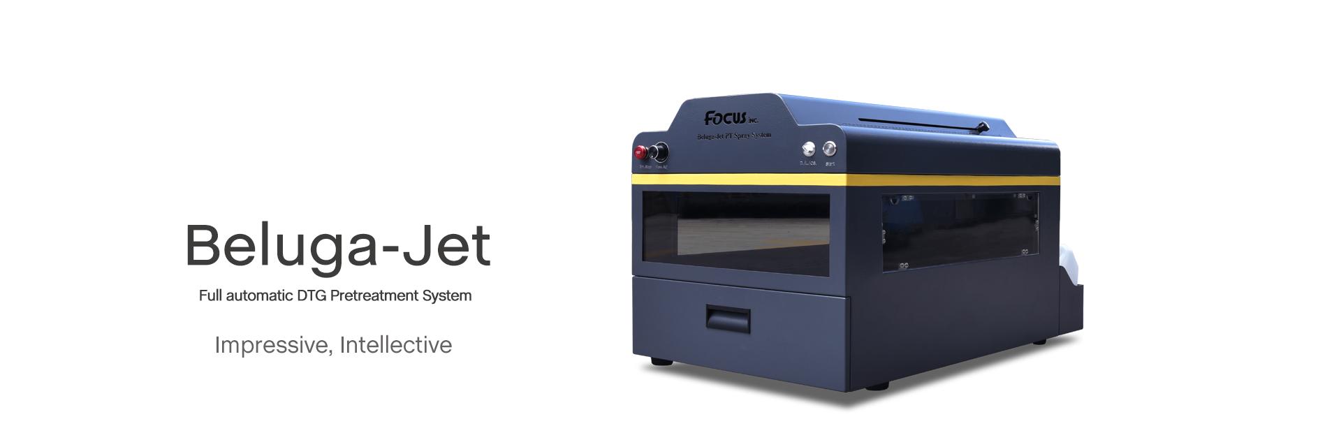 Focus Inc. Pretreatment printers for  T shirt printing