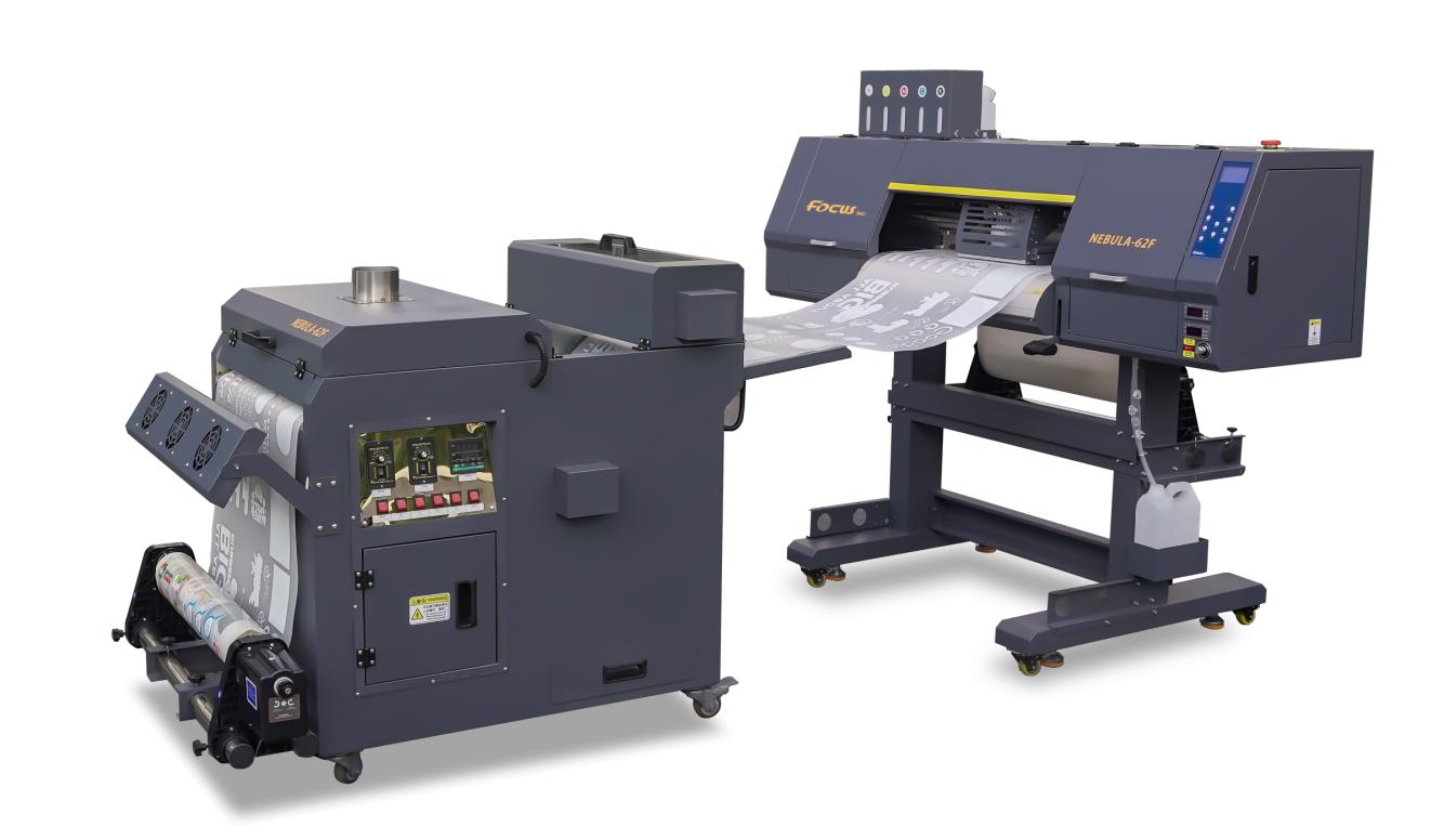 Focus large format pet film dtf printer, with 2-4 Epson 4720 or I3200 heads digital heat transfer printer