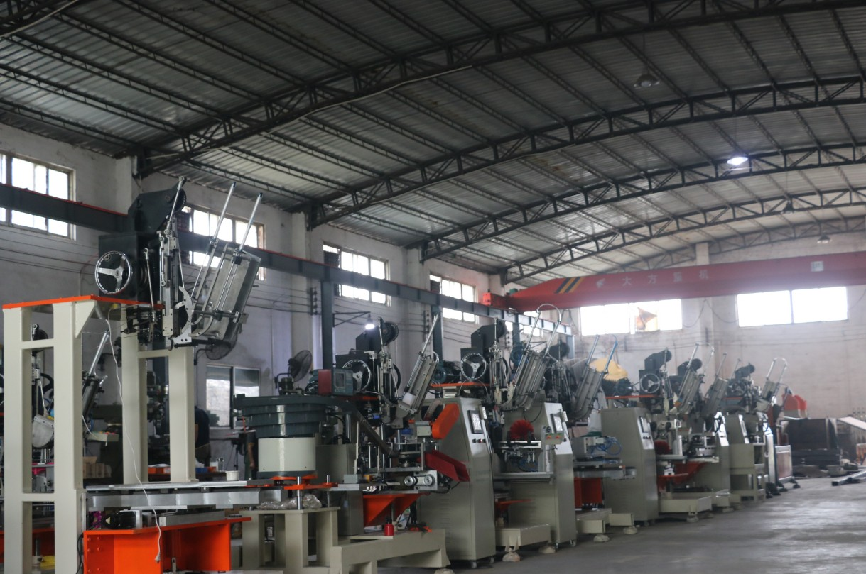 Jiangmen Meixin Comb Brush Making Machinery Factory View
