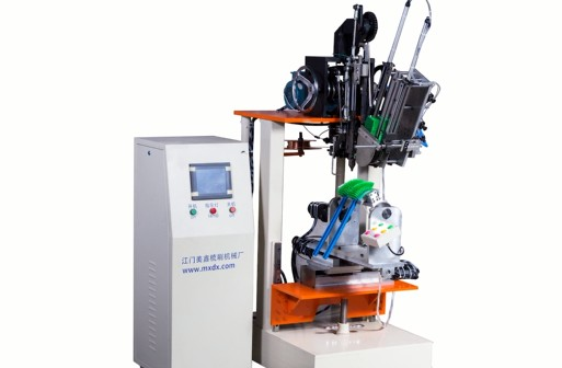 Máquina para fazer escova de hóquei simples de 3 eixos
