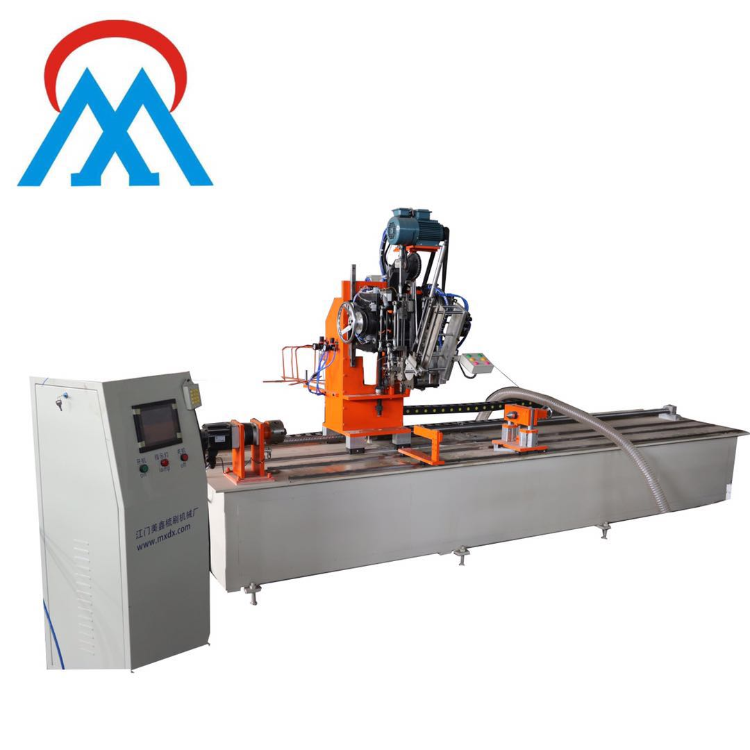 China Big disc brush making machine 5Axis manifatturi-MEIXIN
