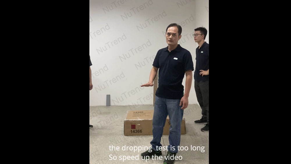 Drop Test - KD Furniture Packaging Safety - Mail Order Business