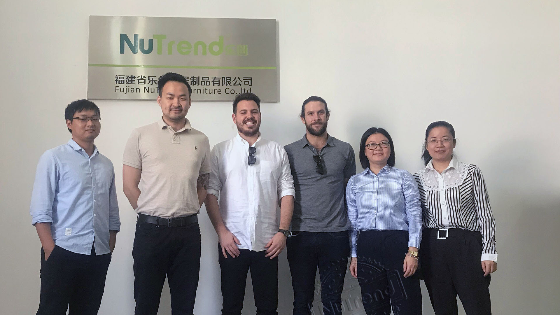 Customers and NuTrend Team
