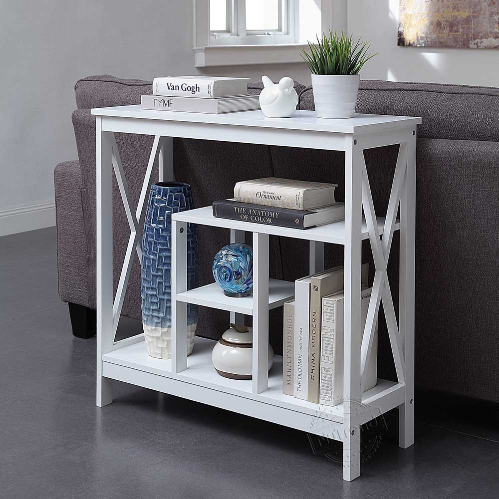 Factory Wholesale Slim Console Table Narrow White Console Table