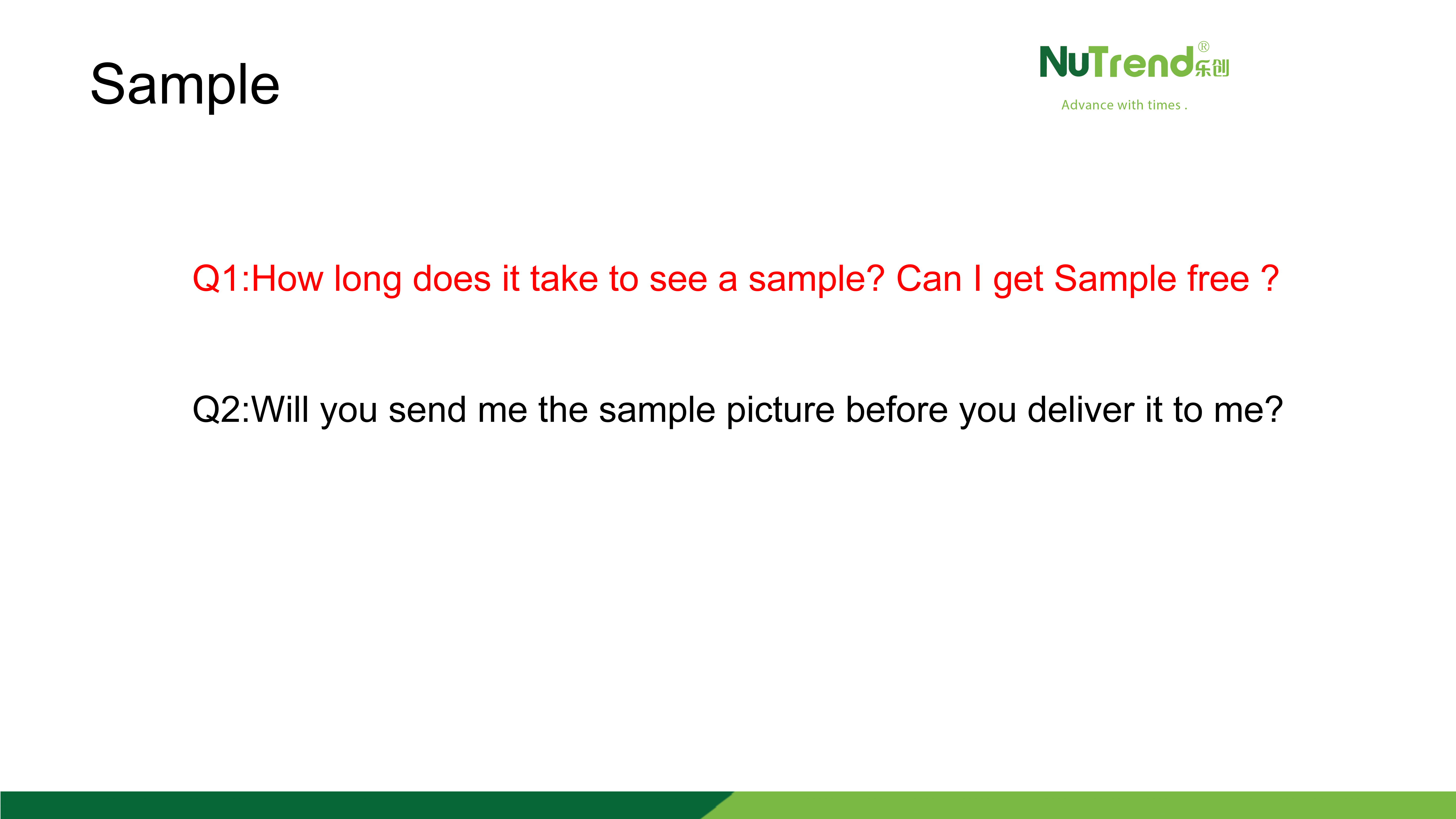About Sample