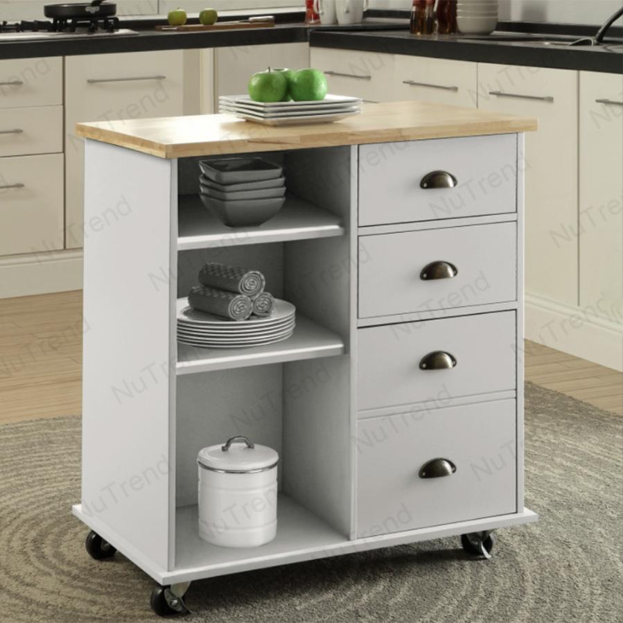 المتداول مطبخ جزيرة وحدات المطبخ عربة جزيرة مطبخ صغير على عجلات 102068
