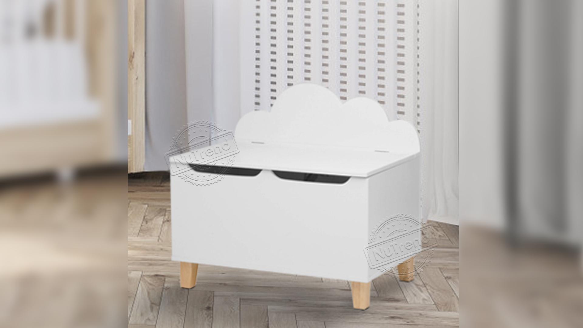 Wooden Kids Toy Box Storage For Children Furniture 702015