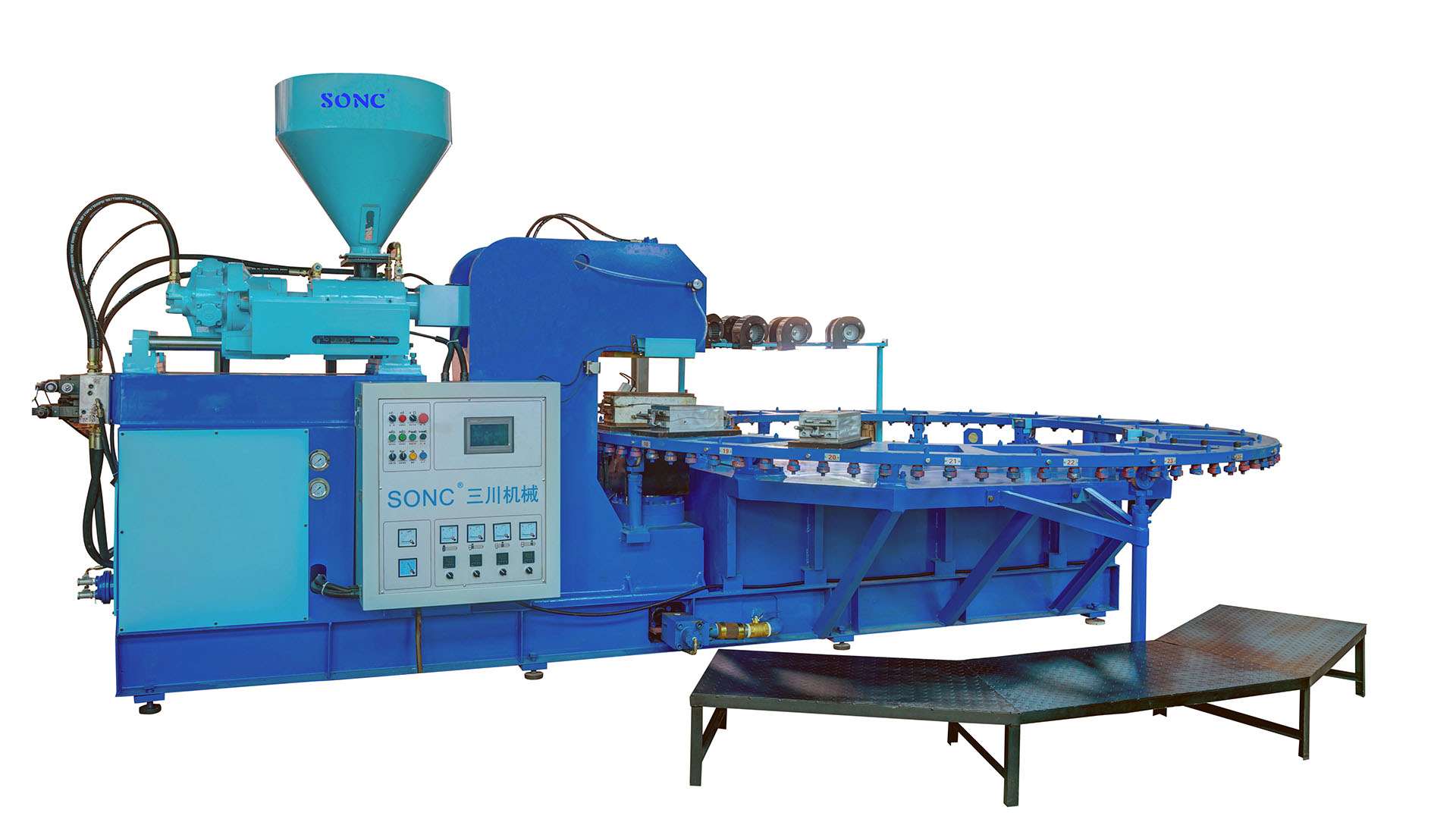 PVC Slippers & Sandals Injection Molding machine EA1 series A TYPE
