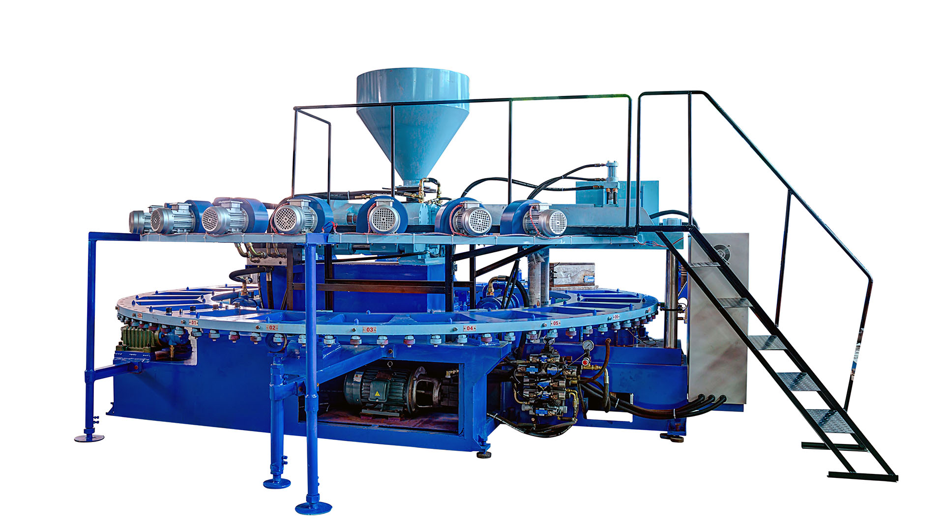 Automatic Air PVC blowing machine EA1 series B TYPE