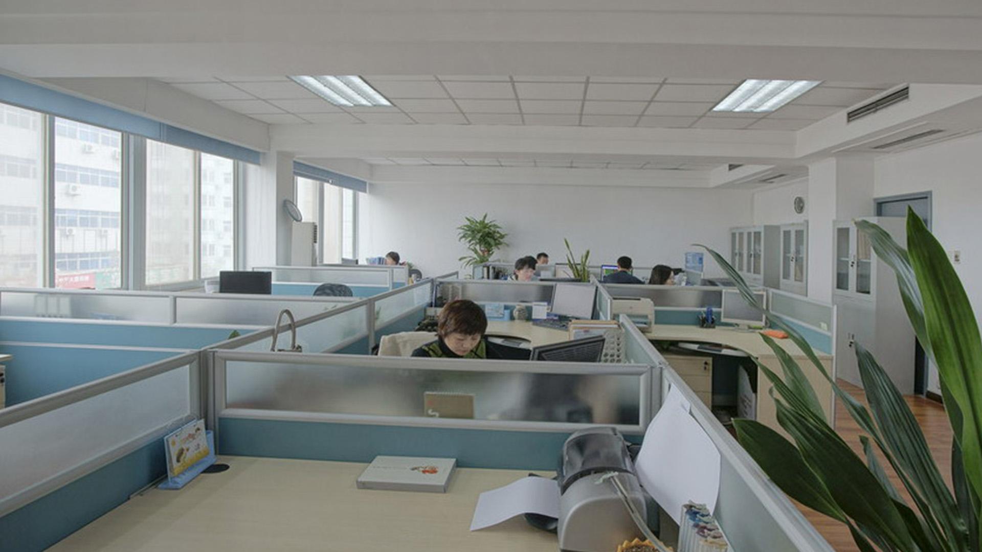 گڈون کا خوبصورت اور کشادہ دفتر