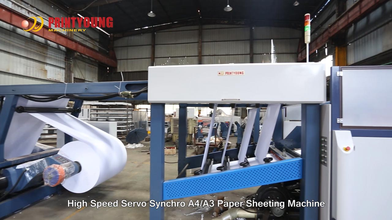 PRY-CHM-A4-4 (pocket) Cut Size Sheeting With Wrapping Machine