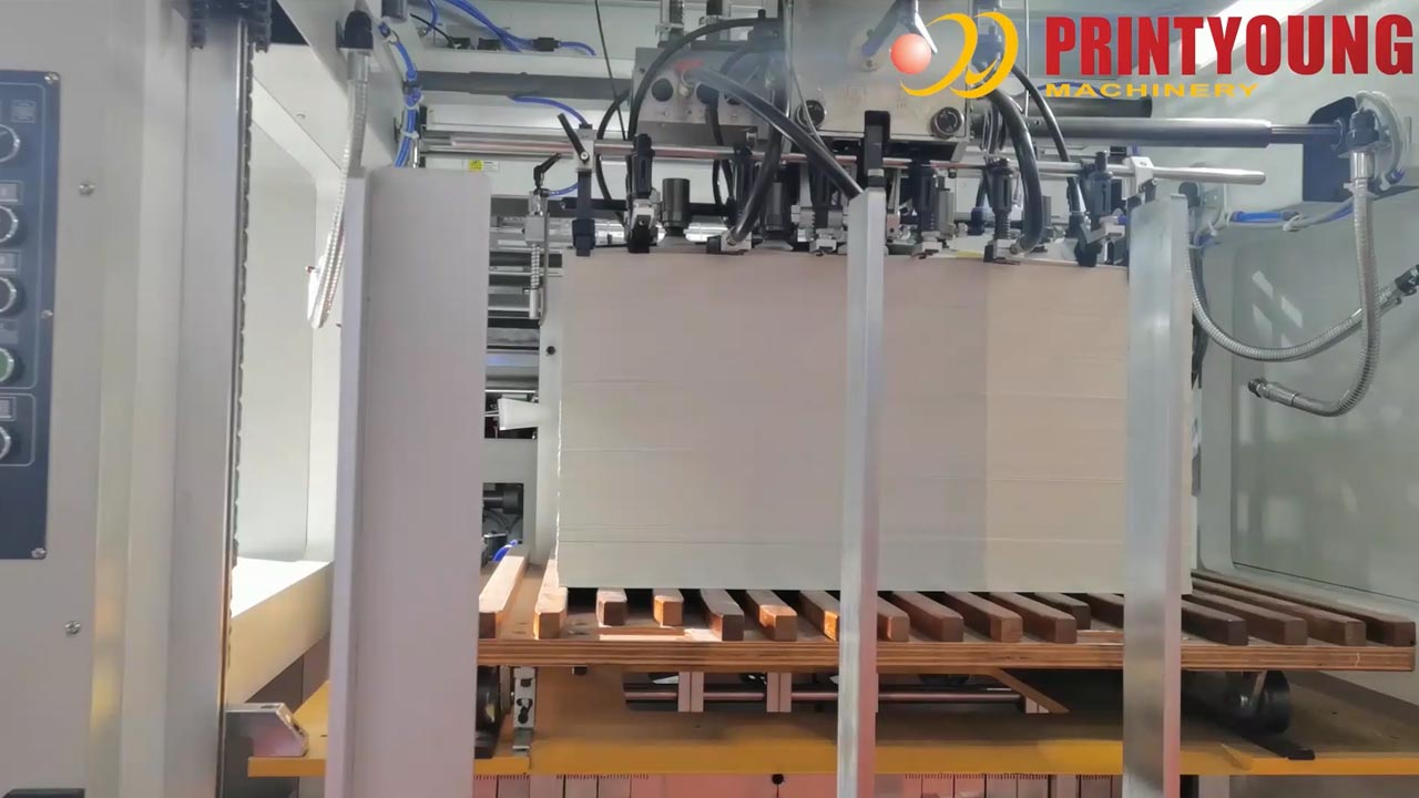 PRY-AEMG-1080MT Automatic Flatbed Hot Stamping/Deep Embossing Die Cutting Machine