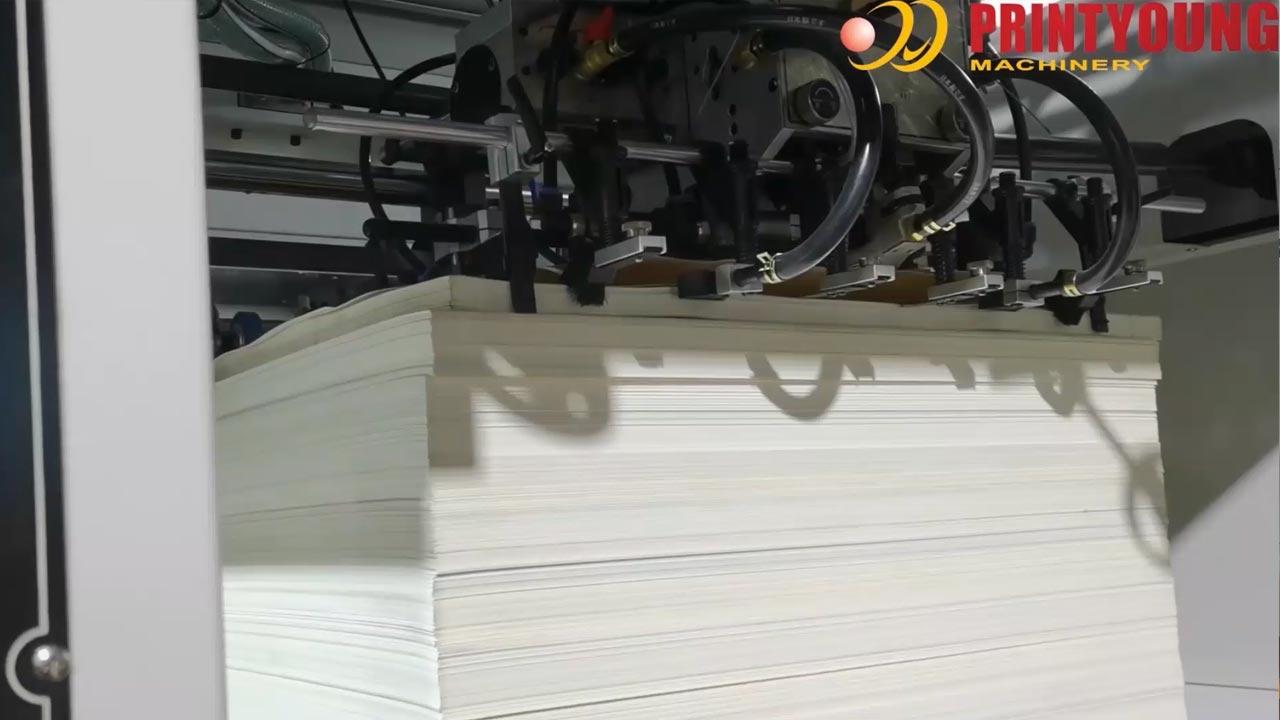 AEMG-1300V  Lead Edge Feeding Automatic Flatbed Die Cutting Machine