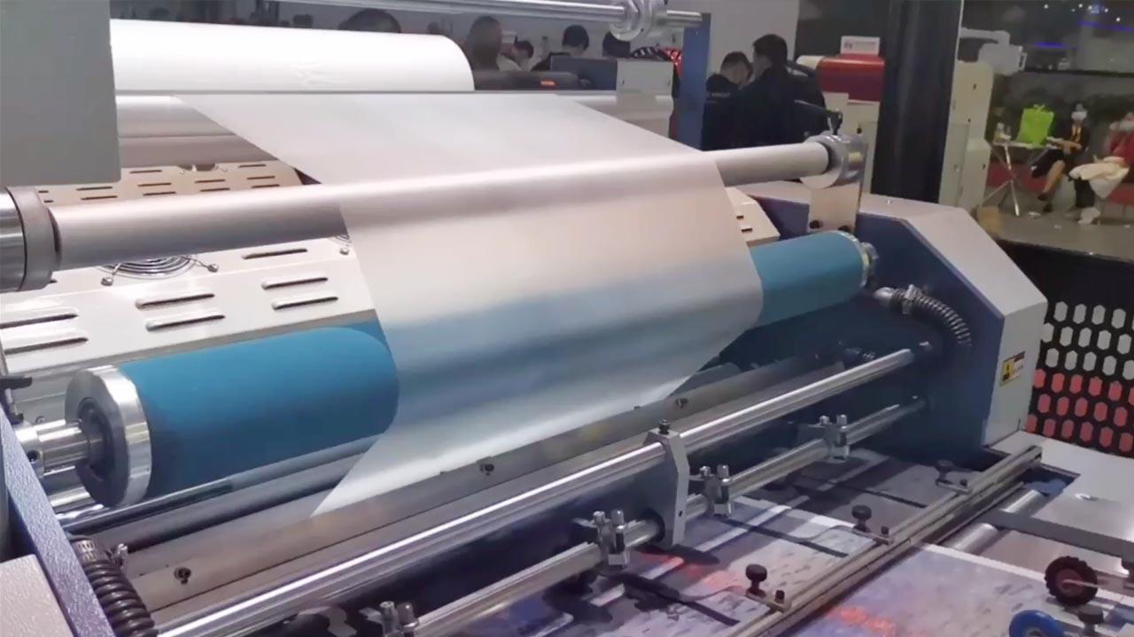 Pry-sw660L Полностью автоматический ламинатор