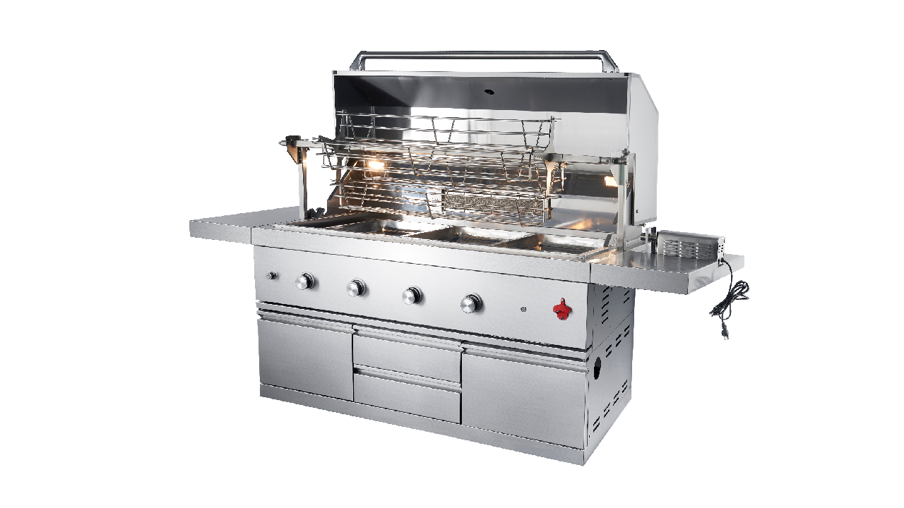 WST-002 Molesale Modernal Wala'y Stainless Stainless Steel Outdoor Commersial House BBQ GAS GRILL