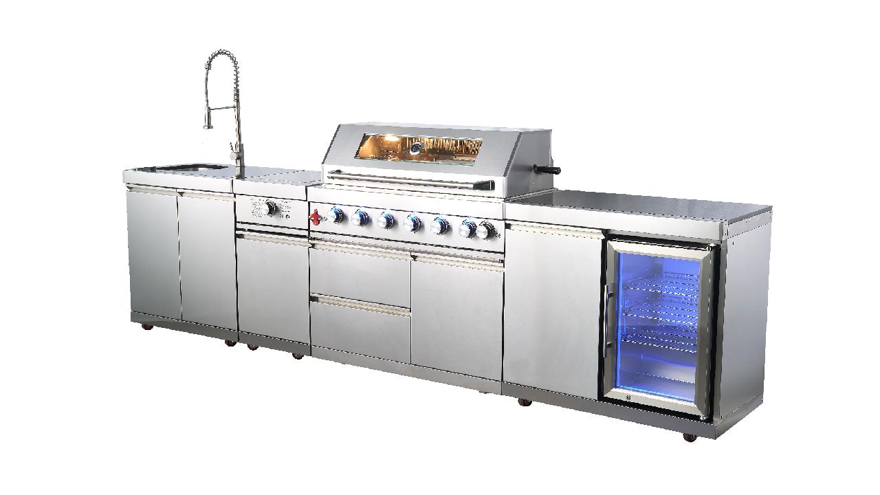 WST-001-3-S Iller de cociña ao aire libre ao aire libre Big Gas Barbill Grill