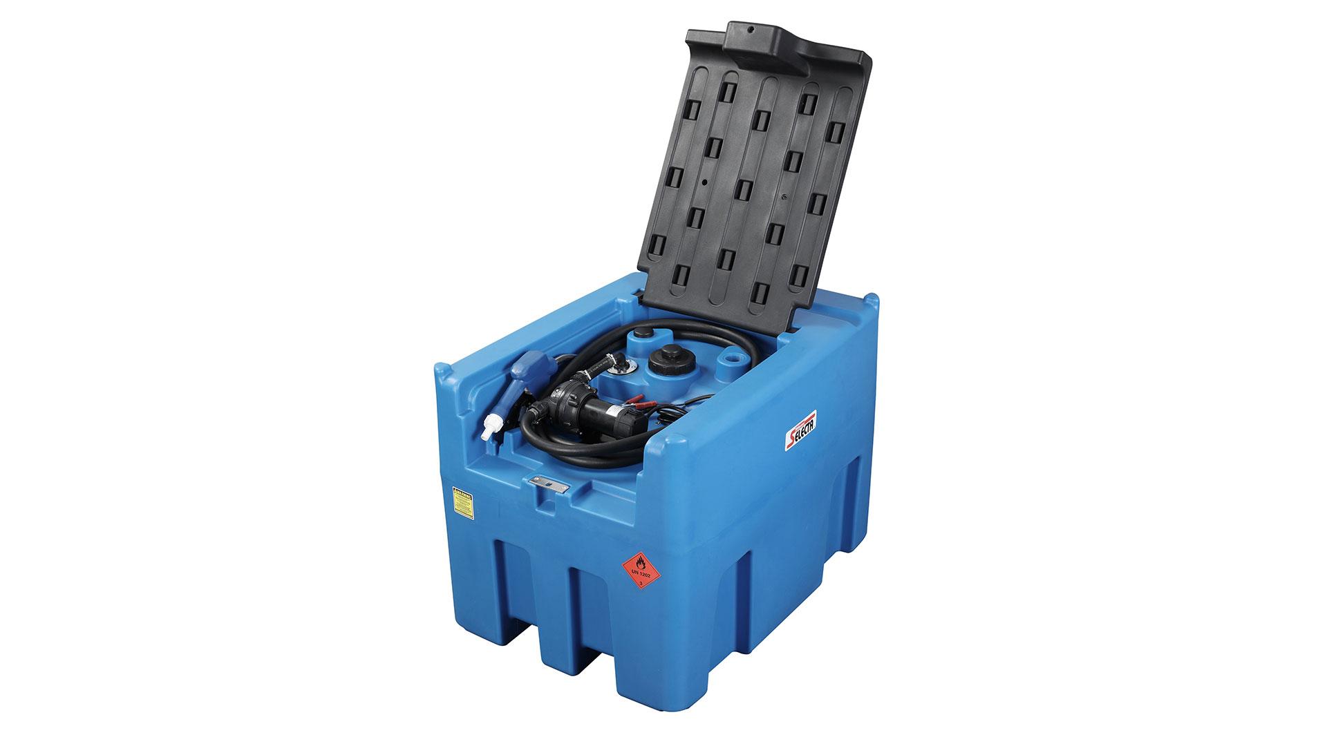 最高品質12V Adblue Pumpが付いている400L DEF尿素Adblueタンクもディーゼルタンクを持っています工場