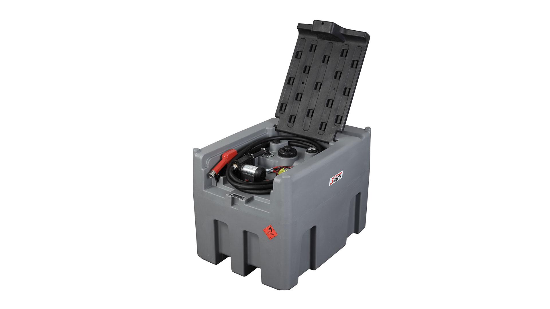 Professional 400L diesel tank with 12V diesel pump manufacturers
