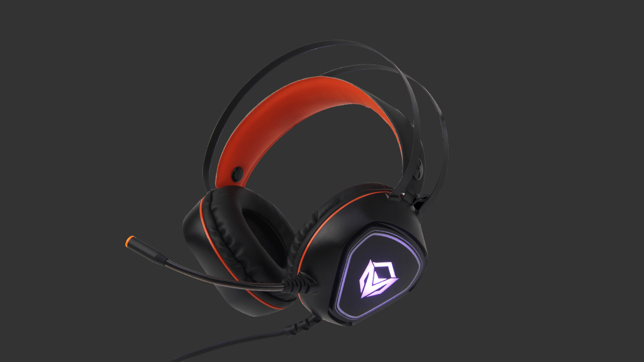 مائڪ HP020 سان گڏ ملاقات Backlit Gaming Headset