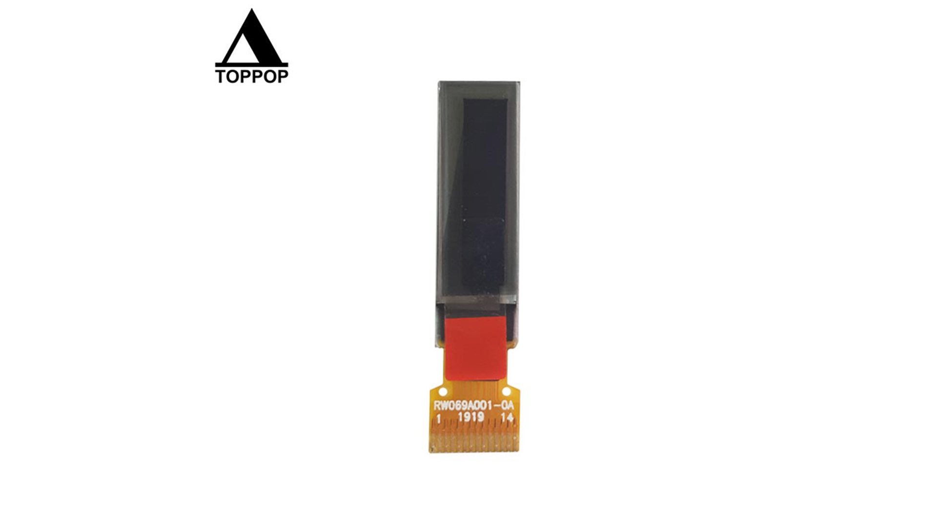 0.69 inch 96*16 pmoled lcd panle Monochrome cheap White mono OLED Display IPS SPI I2C MCU TFT LCD color Screen Module RA1315 14 for Medical oxygenometer Pin poppoplcd