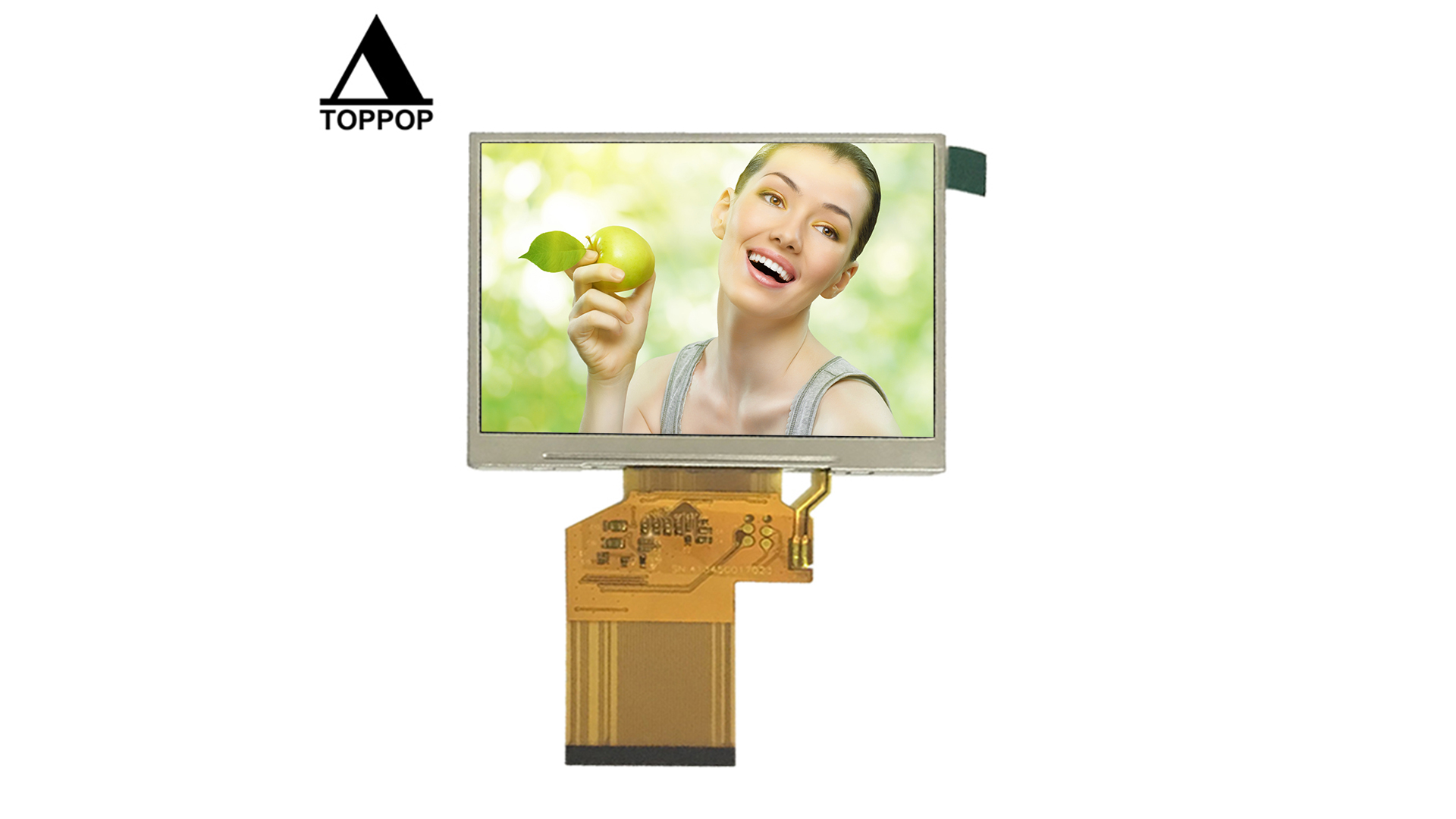 """3.5"""" Landscape 320*240 54 Pin flexible FPC 3.5 inch TFT Display Touch Panel Screen 3.5"""" Car LCD Module Digital Interface 250CD/m2 High Luminance for car lcd display toppoplcd"""
