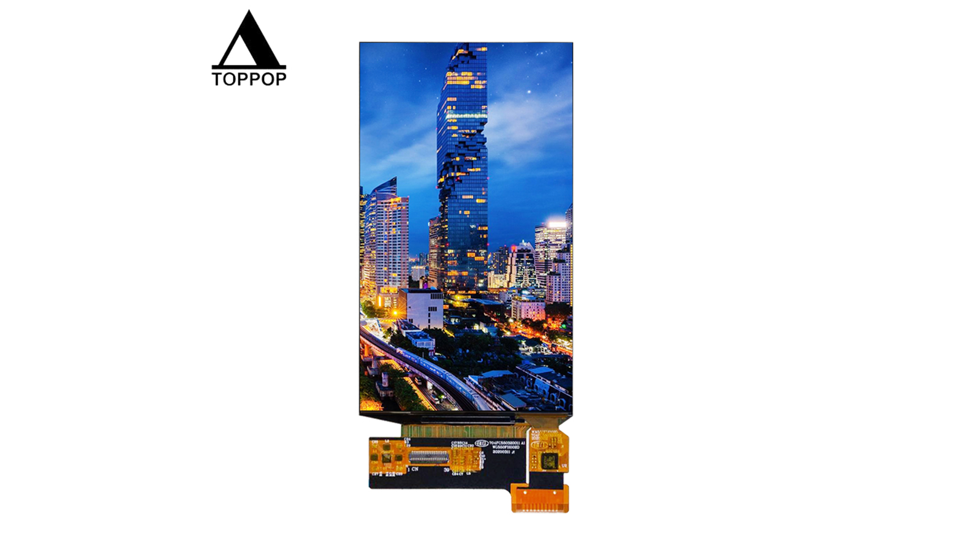 5.5 inch AMOLED Touch Screen IPS Full Viewing Angle 1080P FHD MIPI DSI 4 Lanes Interface 1080*1920 5.44 inch OLED Display LCD Module with Capacitive Touch Panel 39 Pin Connector OEM ODM toppoplcd