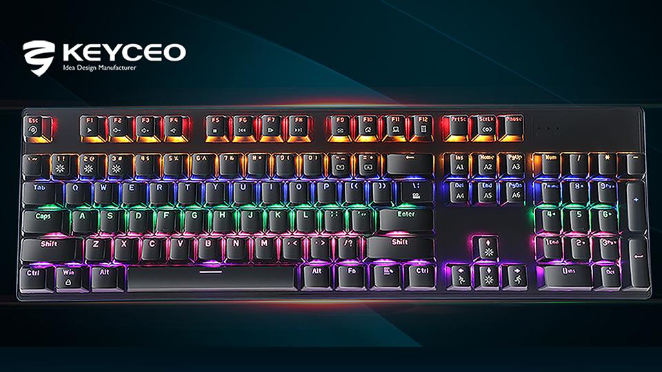 KeyCeo Ky-MK55 Mekanikal nga Keyboard